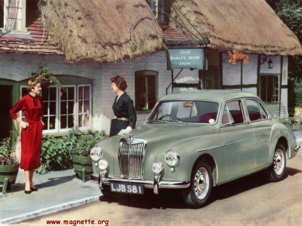 ZB Magnette at Barley Mow Inn